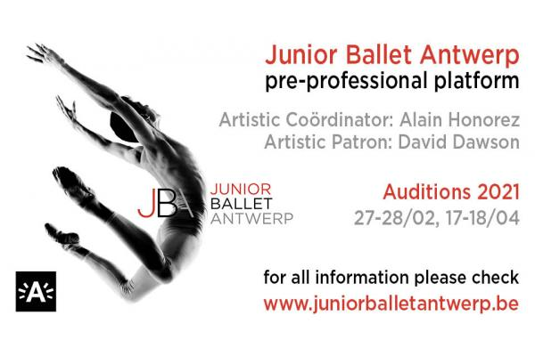 JUNIOR BALLET ANTWERP AUDITIONS