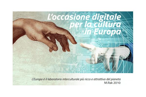 """FESTA DELL'EUROPA: Settimana delle Culture Digitali """"Antonio Ruberti"""""""