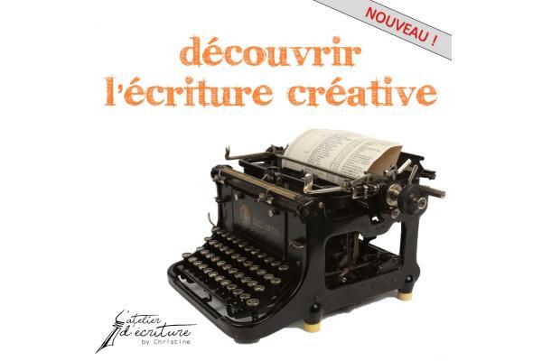 Découvrir l'écriture créative (atelier débutants) - en ligne