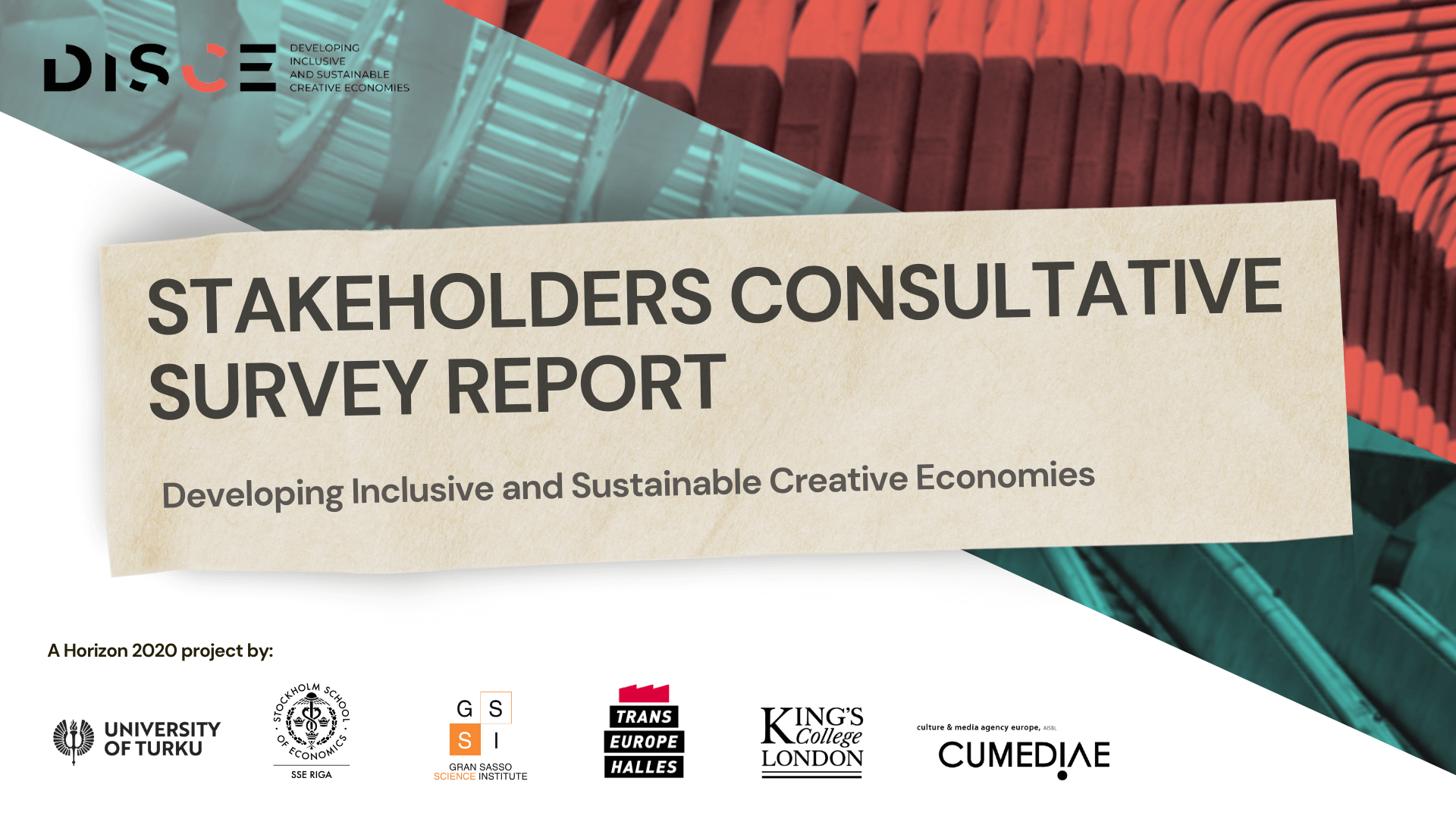 DISCE: Stakeholders Consultative Survey Results