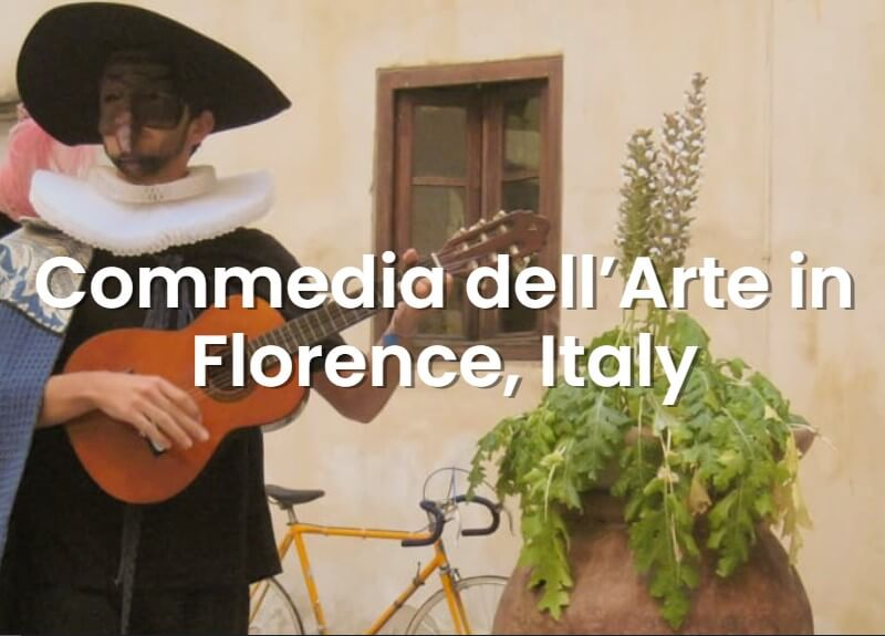 Commedia dell'arte Workshop in Florence