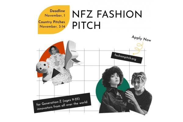 Open Call: NFZ Fashion Pitch - pitching ideas which can change fashion